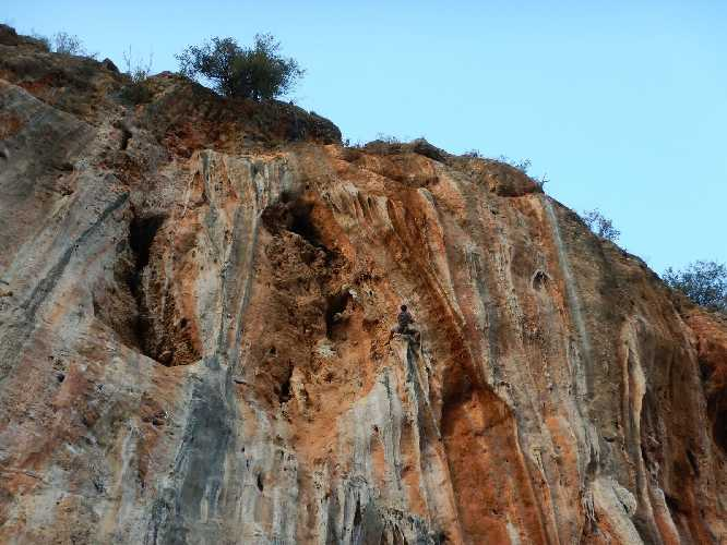 """скалолазы  клуба """"FormAt"""" на скалах Турции. Фото bukhta.com.ua"""
