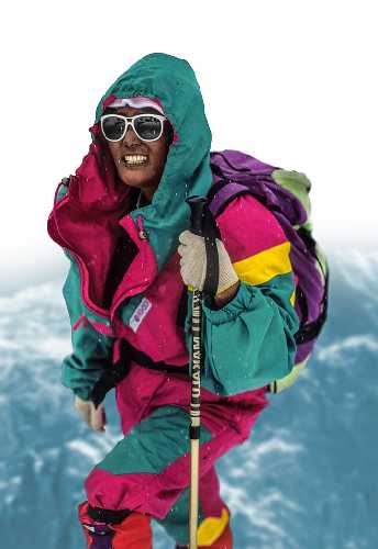 """Пасанг Лхама Шерпа (Pasang Lhamu Sherpa). Фото из фильма """"THE GLASS CEILING"""""""