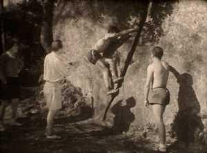 Исторические кадры: боулдеринг в Фонтебло в 1946 году