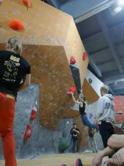 Завершились крупнейшие в Украине соревнования по скалолазанию