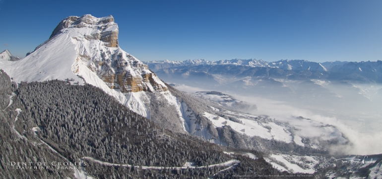 Дан де Кроль (Dent de Crolles, 2060 метров), массив Шартрёз
