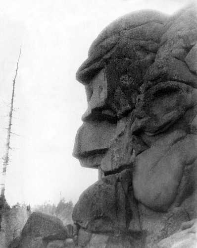 Скала «Дед». Красноярский заповедник «Столбы»