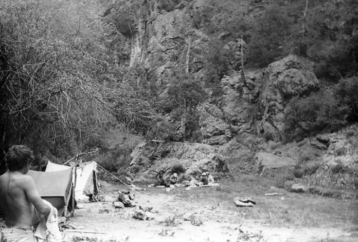 Базовый лагерь под пиком Арг