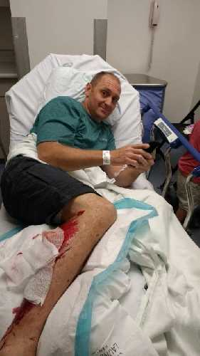 Брайан Коралевски (Brian Koralewski) после травмы