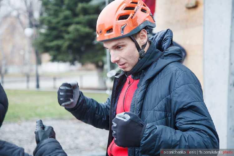Заколодный Александр - альпинист года. Фото fais.org.ua
