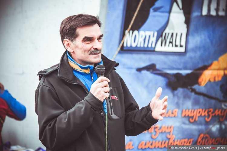 Копейка Геннадий - тренер года по альпинизму. Фото fais.org.ua
