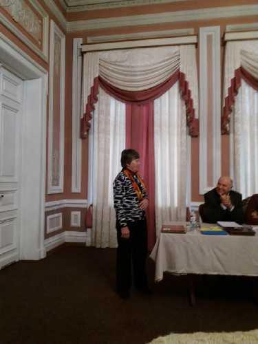 Самсонова Лидия - главный судья по скалолазанию. Фото fais.org.ua