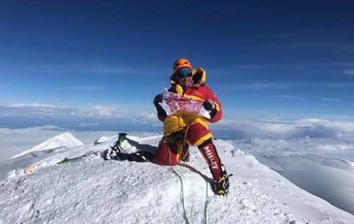 Татьяна Яловчак стала первой украинской альпинисткой, прошедшей 7 высочайших вершин 7 континентов планеты!