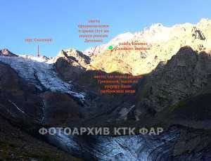 Названы причины гибели двух альпинистов на склоне вершины Адай-Хох Цейского ущелья (4000 м)