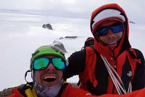 Алекс Хоннольд и Цедар Райт открыли три новых маршрута в Антарктиде!