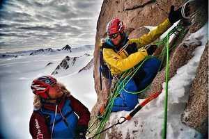 Совершено второе в истории восхождение на вершину горы Спектр в Антарктиде