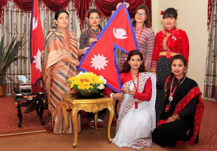 первая женская журналистская экспедиция (First Women Journalists Everest Expedition-2018 / FWJEE18). Фото myrepublica.com
