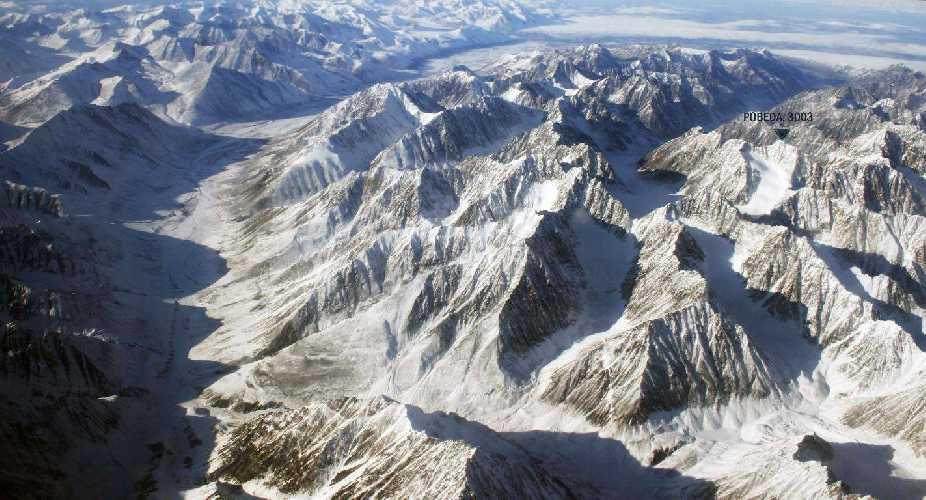 Гора Победа в Сибири