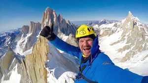 Маркус Пухер: видео первого в истории зимнего восхождения на вершину Серро Полоне в Патагонии