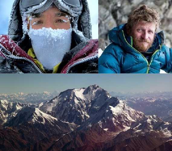 Элизабет Ривол (Elisabeth Revol) и Томаш Мацкевич (Tomasz Mackiewicz). Нанга Парбат (Nanga Parbat, 8126 м) - девятый по высоте восьмитысячник мира
