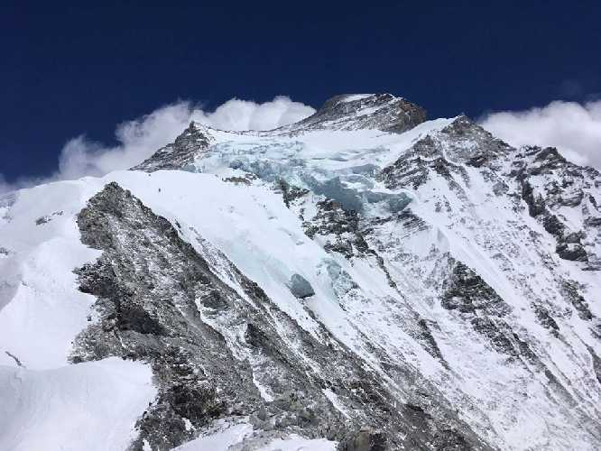 Вершина Чо-Ойю (Cho Oyu, 8188 метров). Фото Kilian Jornet