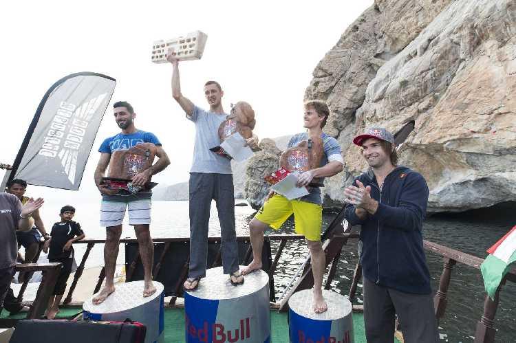 Юрий Володько  - победитель первого скалолазного фестиваля Red Bull Psicobloc, который проходил в Диббе (провинция Мусандам, Оман).