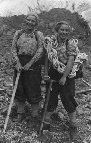 Баровы. Таня и Наташа. 1931 год. Фото из архива Кирилла Барова