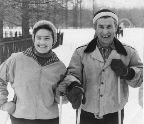 Баров с женой Гребневой. 1962 год. Фото из архива Кирилла Барова