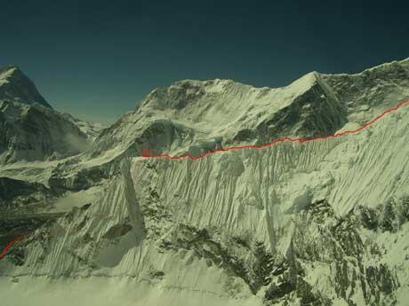 Fantasy ridge. Нижняя часть маршрута. Фото everestnews . com