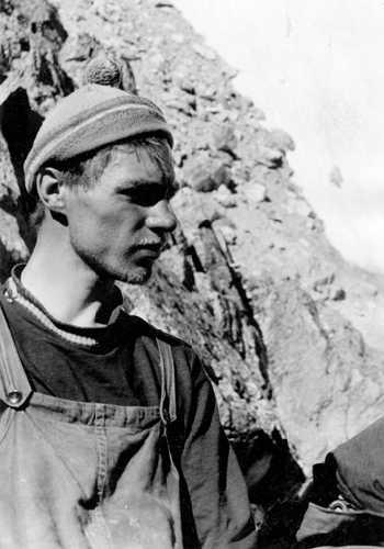 участник экспедиции Лебедев. . Фото из архива Кирилла Барова
