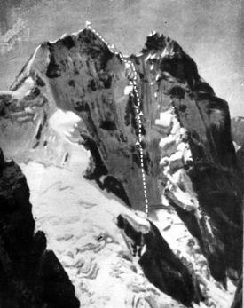 Ушба-Крест. Фото из архива Кирилла Барова