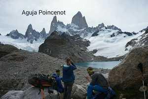 Украинские альпинисты поднялись на вершину Aguja Poincenot в Патагонии
