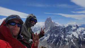 Три новых маршрута на вершину Cerro Solo в Патагонии от британца Джеймса Монипенни