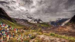 Поиск туристов, пропавших в Непале