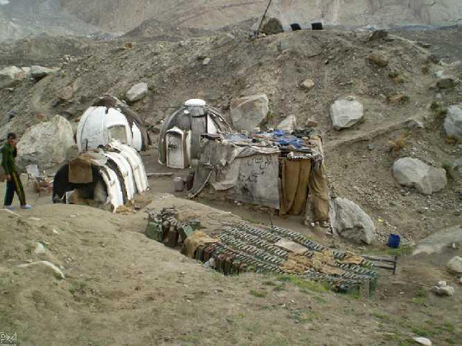 Вид из лагеря Урдукас. Фото Pawel Michalski