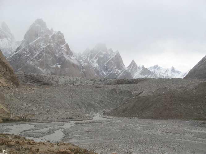Фронт ледника Балторо. Фото Pawel Michalski