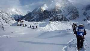 Польская зимняя экспедиция на К2. Фото Wyprawa na K2