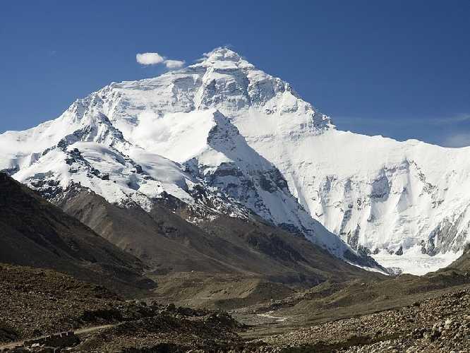 Эверест. Северная сторона.
