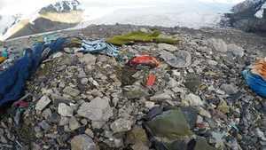Вытаивание тел погибших альпинистов на пике Ленина и с проблема с питьевой водой