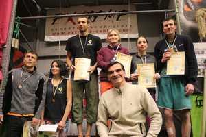 В Харькове завершился чемпионат области по скалолазанию