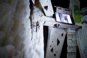 Сегодня в итальянском Рабенштайне стартует второй этап Кубка Мира по ледолазанию