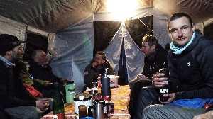 Польская зимняя экспедиция на восьмитысячник К2. Фото из Базового лагеря, январь 2018