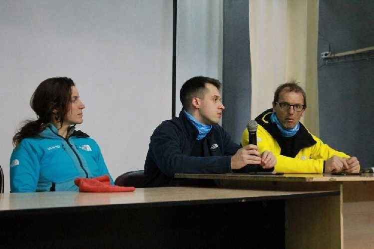 Тамара Лунгер, Филиппо Валоти-Алебарди и Симоне Моро. Фото  ysia . ru