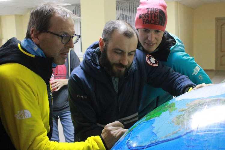 Симоне Моро, Маттео Занга и Тамара Лунгер. Фото  ysia . ru