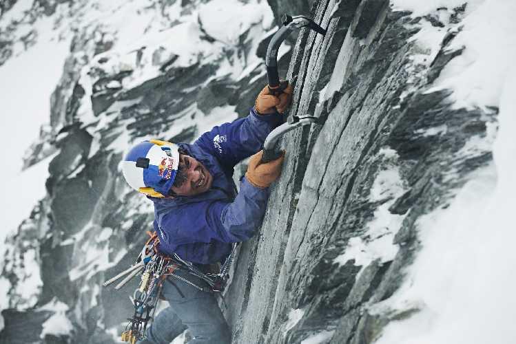 Давид Лама (David Lama). Фото The North Face