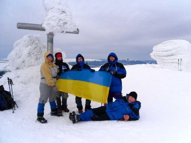 На вершине. Фото fais . org . ua