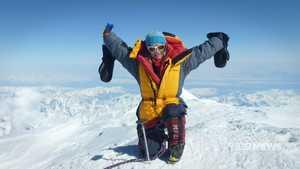 Австралийка Кэти Сара стала первой в мире женщиной, которая прошла семь высочайших вершин и семь вулканов!