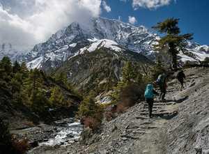 Непал отмечает рекордное количество туристов