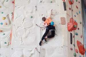 В Черкассах состоялся ежегодный открытый Чемпионат города по скалолазанию среди детей