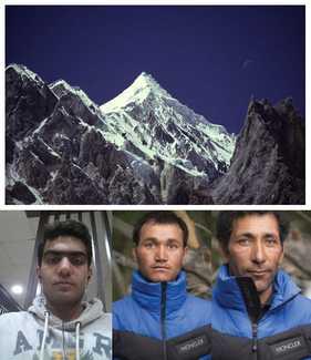 Попытка первого зимнего восхождения на Машербрум II в Пакистане: команда ждёт погоды