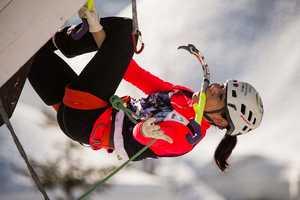Смена лидеров на третьем этапе Кубка Мира по ледолазанию