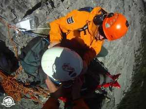 Спасательная операция в Канадских Скалистых горах