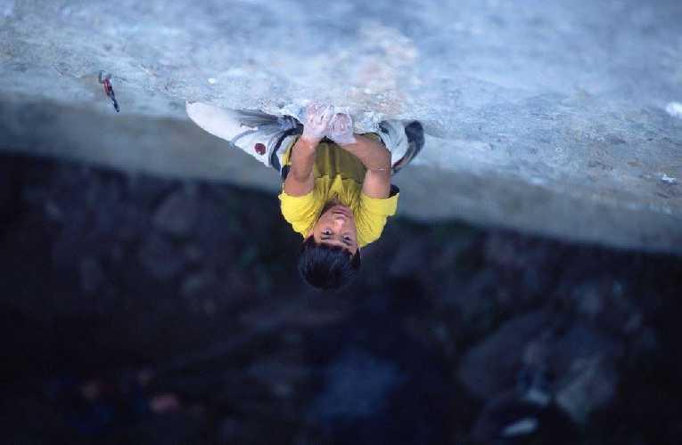 Давид Лама (David Lama) - скалолаз