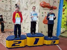 открытый Чемпионат города Черкассы по скалолазанию среди детей. Фото Вячеслав Полежайко