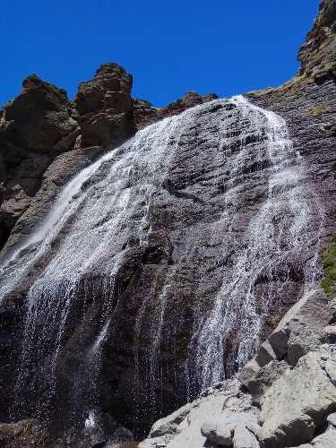 водопад Девичьи косы 2750м. Фото Виталий Шлюпка и Александр Корец